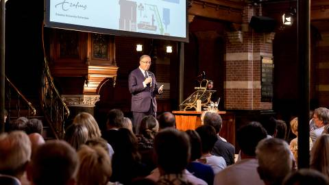 Rotterdamlezing 2018: Aboutaleb in Arminiuskerk