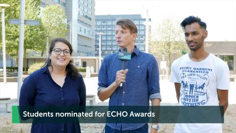 Students nominated for Echo Awards